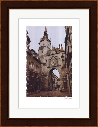 Framed Le Magasin Print