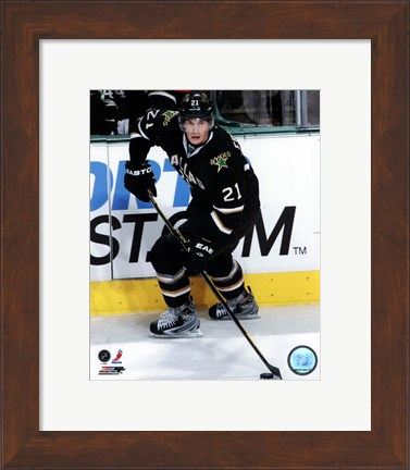 Framed Loui Eriksson 2011-12 Action Print