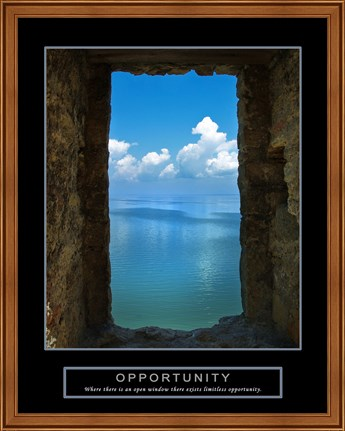 Framed Opportunity - Wall Print