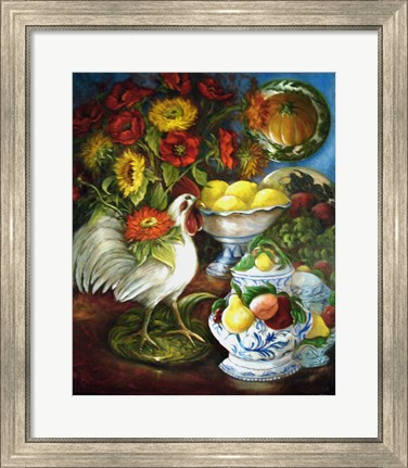 Framed Majolica Collection Print