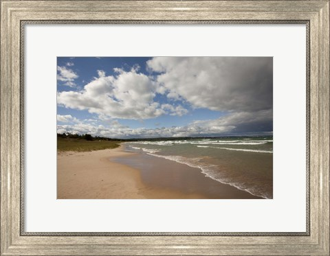 Framed Little Traverse Bay, Petoskey, MI 10 Print