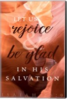Rejoice in His Salvation Fine-Art Print