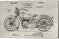 Patent--Motorcycle Fine-Art Print