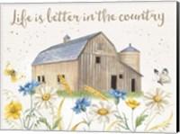 Nostalgic Farm I Fine-Art Print