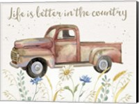 Nostalgic Farm II Fine-Art Print