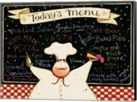 Today's Menu Fine-Art Print