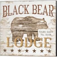 Black Bear Lodge Fine-Art Print