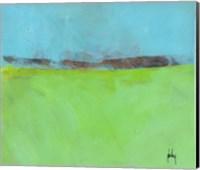 Low Distant Hills Fine-Art Print