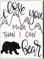 More Than I can Bear Fine-Art Print