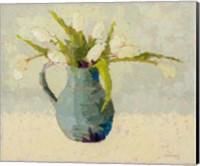 Tulips in Turquoise Fine-Art Print