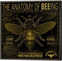 Anatomy 0F Bee-Ing Fine-Art Print