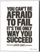 LeBron James Quote Fine-Art Print
