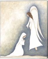 Mary and Angel Fine-Art Print