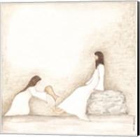 Woman Anoints Jesus with Perfume Fine-Art Print