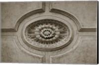 Architecture Detail in Sepia VII Fine-Art Print