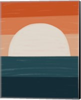 Teal Orange Sunset Fine-Art Print