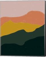Terracotta Mountains Fine-Art Print