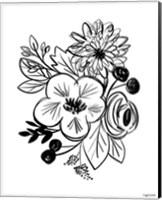 Flower Sketch III Fine-Art Print