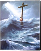 Clinging To The Cross Fine-Art Print