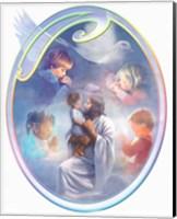 Jesus Loves Children Fine-Art Print