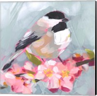 Brushstroke Bird II Fine-Art Print