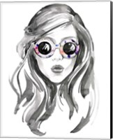 Look into the Sun(Glasses) II Fine-Art Print