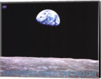 Earthrise Over the Moon Fine-Art Print