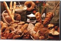 Bread on Table Fine-Art Print