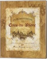 Cotes du Rhone Fine-Art Print
