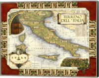 Medium Wine Map (H) I Fine-Art Print