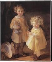 Two Little Sisters Fine-Art Print