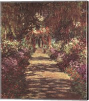 A Pathway in Monet's Garden at Giverny, c.1902 Fine-Art Print