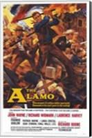 The Alamo John Wayne Wall Poster