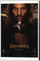 Lord of the Rings: Return of the King - King Aragorn Fine-Art Print