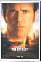 The Patriot Mel Gibson Wall Poster