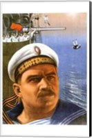 The Battleship Potemkin Captain Wall Poster
