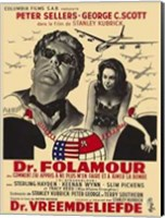 Dr Strangelove  or: How I Learned to Sto - movie Wall Poster
