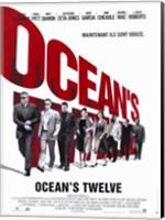 Ocean's Twelve Cast Wall Poster