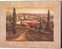 Tuscan Sunset I Fine-Art Print