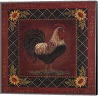 Sunflower Rooster I Fine-Art Print