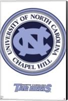 N.Carolina-Logo Wall Poster