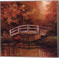 Wooden Bridge Fine-Art Print