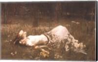 Ophelia (lying in the meadow), 1905 Fine-Art Print