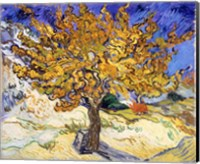 The Mulberry Tree in Autumn, c.1889 Fine-Art Print