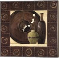 Asian Still Life With Border II Fine-Art Print