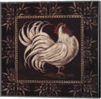 Black & White Rooster I Fine-Art Print