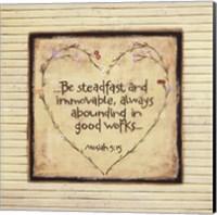 Be Steadfast Fine-Art Print