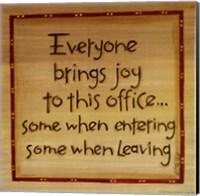 Everyone Brings Joy Fine-Art Print