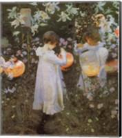 Carnation, Lily, Lily, Rose Fine-Art Print