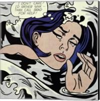 Drowning Girl Fine-Art Print
